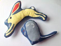 Marimekko soft creatures - hare or mouse