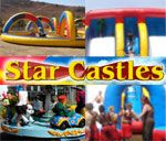 Star Castles provides a range of exciting party accessories to suit any party requirement i. Mini Carousels, Pony Cart Rides, Animals, A large Snakes & Ladders Game. They also hire out Bubble & Popcorn Machines.