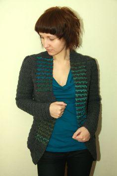 Eleven handmade crochets by Linda Skuja - blog: London Cardigan 2.0 - updated crochet pattern