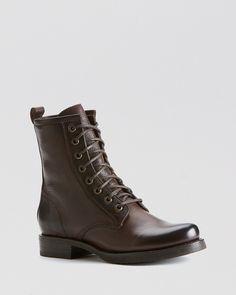 Frye Combat Boots - Veronica   Bloomingdale's