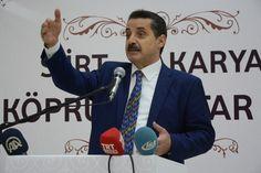 Gıda Tarım ve Hayvancılık Bakanı Faruk Çelik Siirt'te çeşitli ziyaret ve temaslarda bulundu. [01.07.2016]