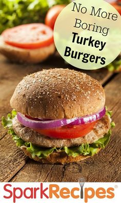 7 Better Turkey Burger Recipes via @SparkPeople