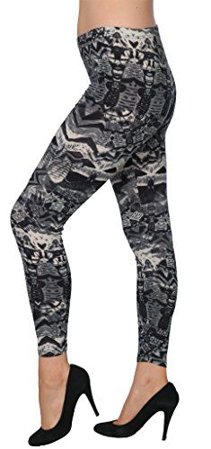86826e94023bf1 Womens Designed Printed Pattern Fashion Leggings Or Jeggings LEG142 LXL --  Be sure to check