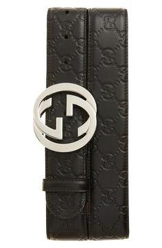 Men Gucci belt