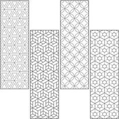 Four NEW geometrics designs! Get your customers creating with these uncoated Color Craze Bookmarks. Cute Coloring Pages, Adult Coloring Pages, Coloring Sheets, Coloring Books, Diy Bookmarks, Bookmarks To Color, Free Printable Bookmarks, Bookmark Template, Crayola Colored Pencils