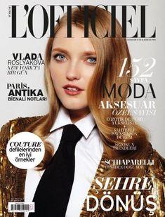 Vlada Roslyakova - L'Officiel Magazine Cover [Turkey] (October 2012)