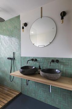 bathroom inspiratie Classic but unique Dutch architecture styles exemplified in stunning Frans Halsstraat building Steam Showers Bathroom, Bathroom Faucets, Remodel Bathroom, Bathroom Makeovers, Bathroom Mirrors, Bathroom Cabinets, Bathroom Renovations, Moroccan Tile Bathroom, Modern Bathroom Tile