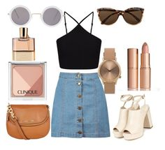 """""""Denim & Tan Days"""" by anyaaa04 on Polyvore"""