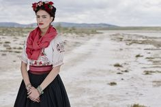 Since it's International Women's Day & #EY are the official sponsors, we are celebrating the legacies given to us by the great female artists of history. #FridaKahlo began to paint in 1925 while recovering from an accident that left her permanently disabled. Her art has been sought by leading museums while her dress has inspired many fashion designers. #IWD2016 #EYArts #LegacyBuilders