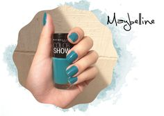 Urban Torquoise maybelline nail polish - Cor Urban Torquoise esmalte da Maybelline