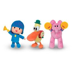 Pocoyo Squeeze 'n Play Characters