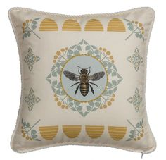 French Bee 16 x 16 Pillow