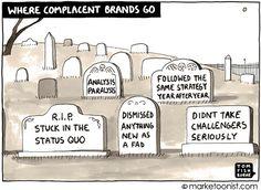 where complacent brands go - Tom Fishburne @Tom Fishburne