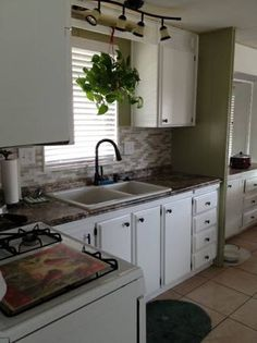 This fireplace is in a single wide mobile home wood for Single wide mobile home kitchen remodel ideas