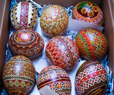 Ukrainian painted eggs (photo by Color Your World)
