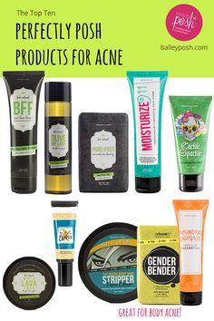 The Top 10 Perfectly Posh Products for Acne #AcneProducts