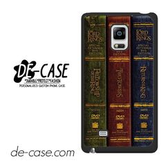 Book Collection Of The Lord Of The Rings Trilogy DEAL-2036 Samsung Phonecase Cover For Samsung Galaxy Note Edge