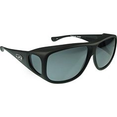 0579e085e9 Jonathan Paul Fitovers Eyewear Aviator Sunglasses Matte Black PDX Grey --  Check out the image
