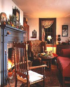 Decor On Pinterest Colonial Colonial Decorating And Early American