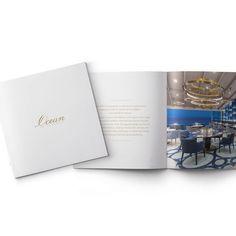 Ocean Restaurant, Corporate Design, Editorial Design, Brand Design, Brand Identity Design