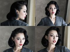 Help recreating this pageboy-esque hairstyle? – Pinup Girl Style