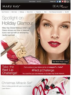 Get a holiday party look from our makeup pro. - Mary Kay