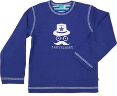 Lange mouwen shirt met grappige applicatie, 2014   Shirt with long sleeves and funny appliqué, 2014