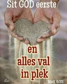Sit God eerste en alles val in plek. Psalms Quotes, Christ Quotes, Religious Quotes, Bible Verses Quotes, Spiritual Quotes, Prayer Verses, Bible Prayers, Prayer Quotes, Happy Quotes
