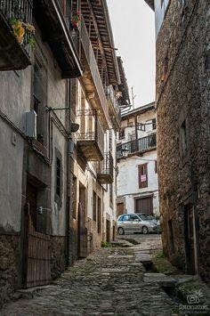 Candelario, uno de los pueblos más turísticos de Salamanca Bay Of Biscay, Iberian Peninsula, Mediterranean Sea, Atlantic Ocean, Simply Beautiful, North West, Diorama, Sierra, Places