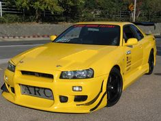 99 Skyline GT-R R34 | West Eye Lines Nissan R34 GT-R 99-02Don't settle for a boring upgrade with a BodyKit today! GotBodyKits? Love the look of SideSkirts, Grilles and Spoilers? Visit Rvinyl to browse our complete selection!
