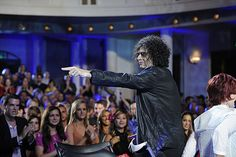 Howard Stern at the Tampa auditions. #AGT/ America's Got Talent