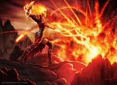 Flames of the Firebrand by *SteveArgyle on deviantART