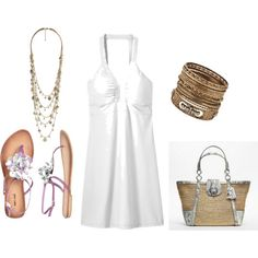 Love the white and all the funn accessories!