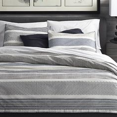 Medina Duvet Covers and Pillow Shams  | Crate and Barrel