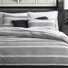 Medina Duvet Covers and Pillow Shams  | Crate and Barrel