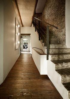 white, exposed brick, and stone. interiorgasm