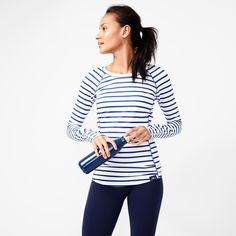 Today, J.Crew unveiled their much hyped sport collection in collaboration with New Balance. The workout gear is full of polka dots, stripes, and classic colors I can certainly get behind. I also love that they've used real athletes to model the clothes—they look beautiful, toned, and healthy. Nothing like a little fitness inspiration! Check out some of my favorite looks …