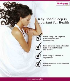 A good night's #sleep is incredibly important for #health.