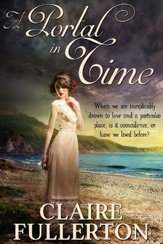 """Book Cover  for Paranormal Mystery """"A Portal in Time."""" It is the year 1906, and Valeria Sienna Kristiansen can not bring herself to look at the sea where a tragedy has taken place."""