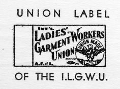 Information on Ladies' Garment Workers Union Labels