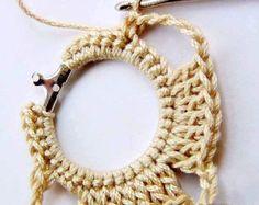 aprende a confeccionar aros tejidos en crochet - Taringa!