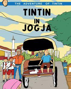 Tintin in jogja  #tintin #tintinindonesia #tintinfanart #tintindrawing