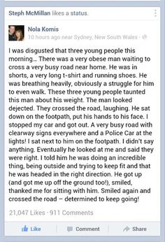 Curiosities: Humanity at its Finest. Definitely teared up while reading.