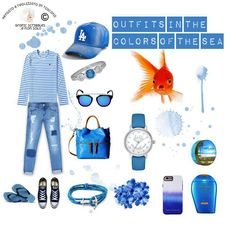 OUTIF http://graficscribbles.blogspot.it/2016/06/colors-palette-tropical-fish-azzurro-mare-outfit.html
