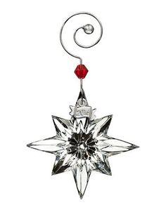 Waterford Mini Star Crystal Ornament Women's Multi