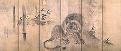 雨の中、水の温もりを求めて。 その2 出光美術館、長谷川等伯と狩野派 - Suigara-yama_OoazaHyo(Kyoko_Umino)