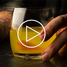 What happens when you mix absinthe, gin, and fire? A delicious cocktail  recipe, that's what.
