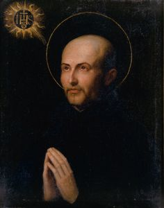 """""""It's not hard to obey when we love the one whom we obey.""""  - St. Ignatius of Loyola"""