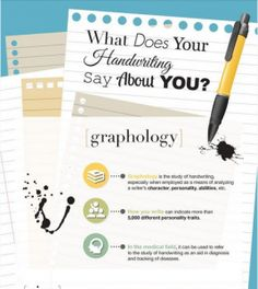 What Does Your Hand Writing Say About You?