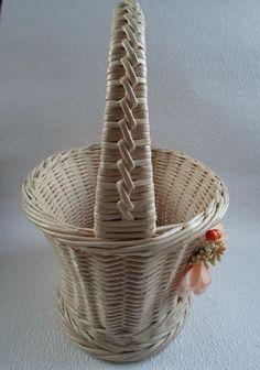 Одноклассники Paper Basket, Wicker Baskets, Wicker, Braid, Woven Baskets